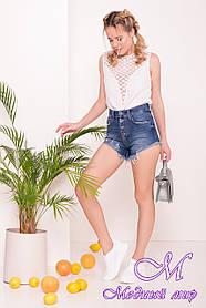 Шорты джинсовые женские (р. 27, 28, 29) арт. 7435 - 43214