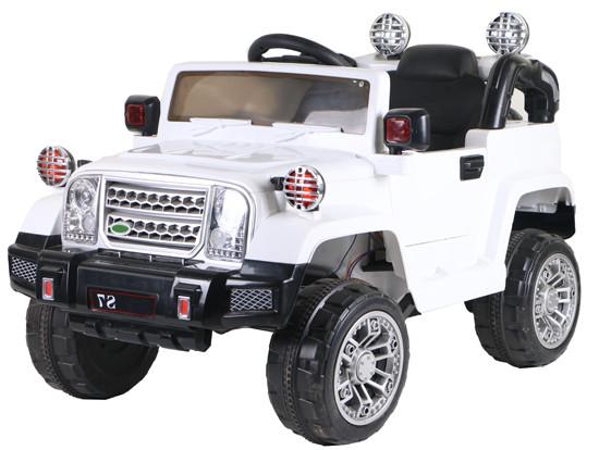 Электромобиль T-7838 WHITE джип