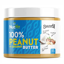 Натуральне масло OstroVit Peanut Butter + Coconut (500 g)