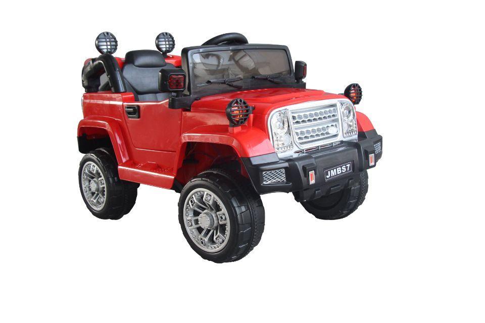 Электромобиль T-7838 RED джип