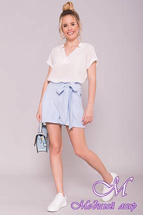 Женские стильные шорты лето (р. S, M, L) арт. 7329 - 43006, фото 2