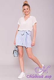 Женские стильные шорты лето (р. S, M, L) арт. 7329 - 43006 L