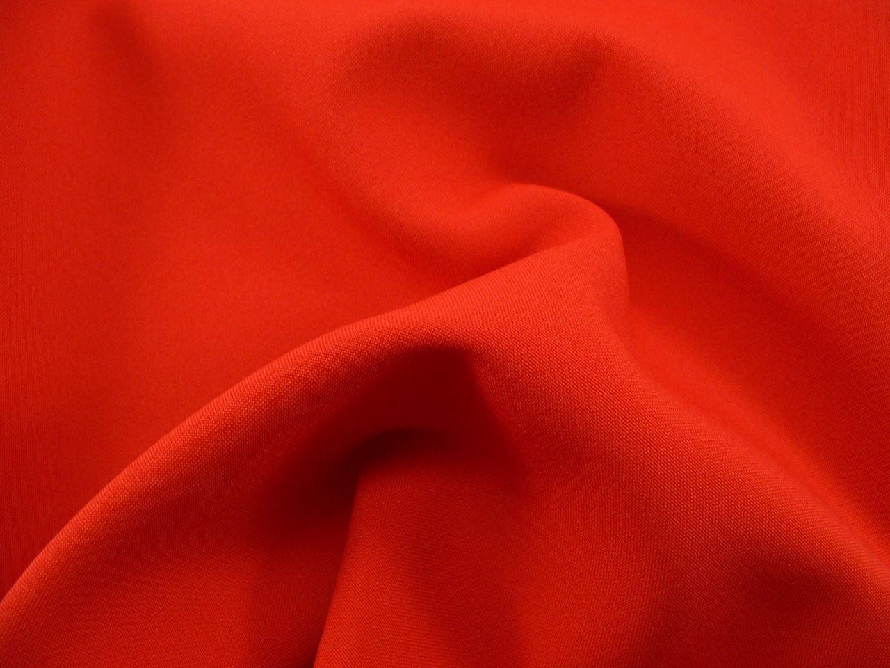 Габардин красный №13, ткань