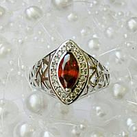 Кольцо Xuping, родий, размер 20