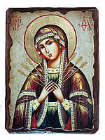 Икона Семистрельная Пресвятой Богородицы
