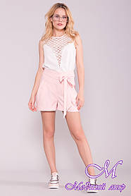 Модные женские летние шорты (р. S, M, L) арт. 7329 - 43007 L