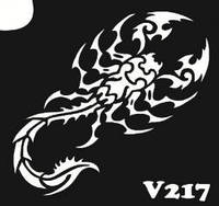 Трафарет №217 - Скорпион
