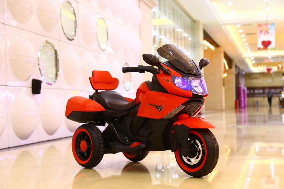 Электромобиль T-7224 RED мотоцикл