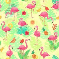 Фламинго Вафельная картинка