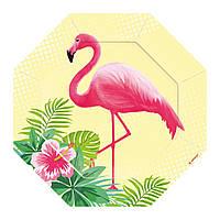 Фламинго 2 Вафельная картинка