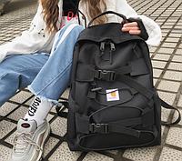 Рюкзак черный школьный