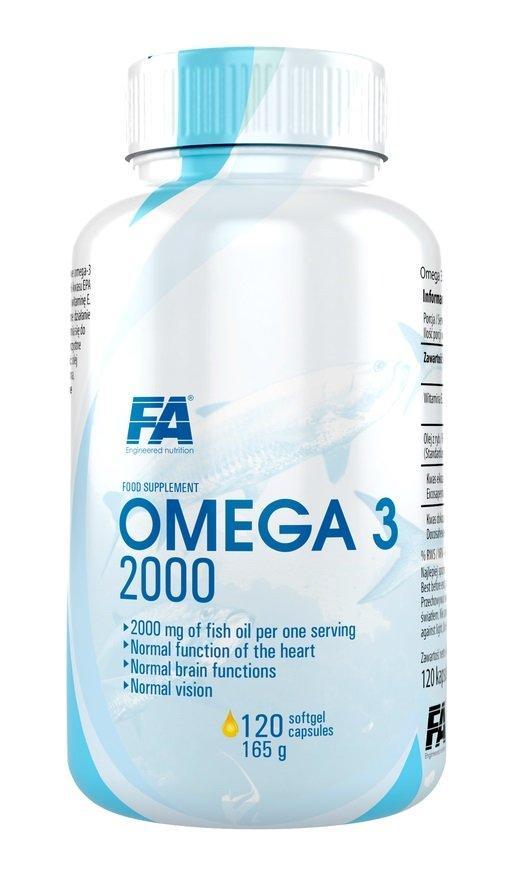 Витамины и минералы Fitness Authority Omega 3 (120 caps)