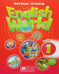 English World 1 Pupil's Book with eBook + CD for Ukraine (учебник с онлайн кодом и диском UA)