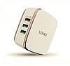 Мощное зарядное устройство LDNIO A6704 на 6 выходов USB, Max ток 7А + Qualcomm 2.0 Quick Charge