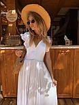 Женское платье в пол с вырезом на спине (в расцветках), фото 3