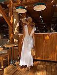 Женское платье в пол с вырезом на спине (в расцветках), фото 2