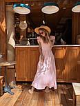 Женское платье в пол с вырезом на спине (в расцветках), фото 7