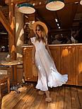 Женское платье в пол с вырезом на спине (в расцветках), фото 4