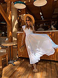 Женское платье в пол с вырезом на спине (в расцветках), фото 6