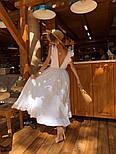 Женское платье в пол с вырезом на спине (в расцветках), фото 5