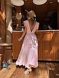 Женское платье в пол с вырезом на спине (в расцветках), фото 8