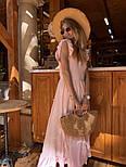 Женское платье в пол с вырезом на спине (в расцветках), фото 9