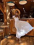 Женское платье в пол с вырезом на спине (в расцветках), фото 10
