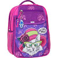 Рюкзак школьный Bagland Отличник 20л (580 339 фиолетовый 168к)