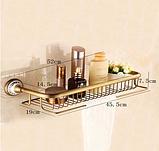 Полочка для ванной комнаты 6-145, фото 4