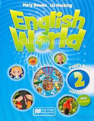 English World 2 Pupils Book with eBook + CD for Ukraine (учебник с онлайн кодом и диском, UA)