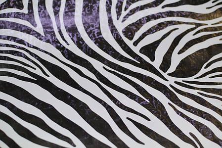 Самоклейка, GEKKOFIX, зебра, черный, белый,  12620, 45 cm, фото 2