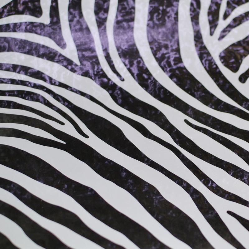 Самоклейка, GEKKOFIX, зебра, черный, белый,  12620, 45 cm