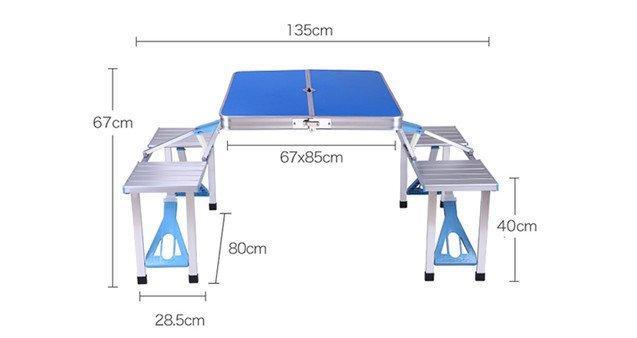 Туристичний стіл трансформер