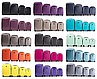 Комплект 4-ка пластиковых чемоданов на четырёх колёсах, фото 7