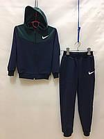 """Спортивный костюм детский для мальчика""""Nike"""" от 2 до 6 лет,синий с зеленым"""