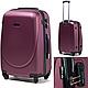 Комплект 4-ка пластиковых чемоданов на четырёх колёсах, фото 9