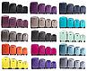Комплект 4-ка пластикових валіз на чотирьох колесах, фото 7