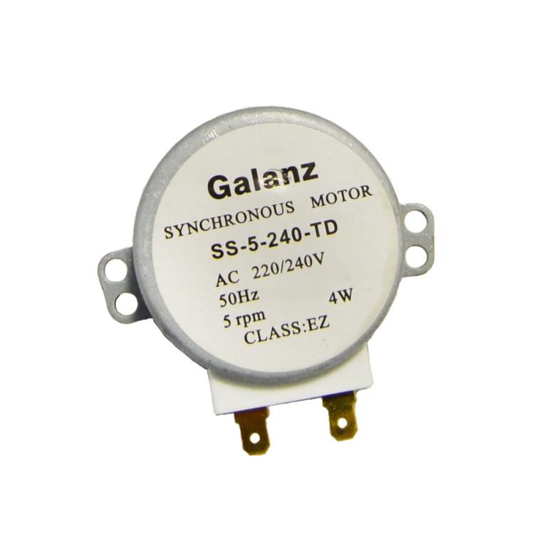 Двигатель поддона Galanz SS-5-240-TD для микроволновой печи (220V, 5 об/мин)