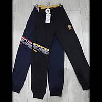 Спортивные трикотажные подростковые штаны для мальчиков оптом  GRACE