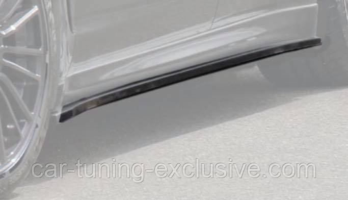 MANSORY side skirts lips for Porsche Panamera