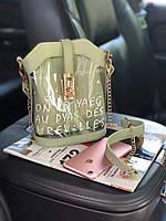Прозрачная силиконовая сумка 2в1 от WeLassie.