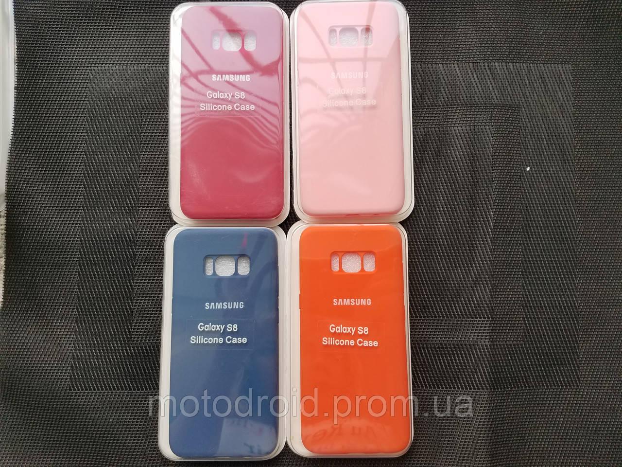 Silicone case чохол для Samsung Galaxy S8