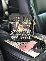 Прозрачная силиконовая сумка с косметичкой, 2в1, пляжная сумка, сумка кросс-боди Черный