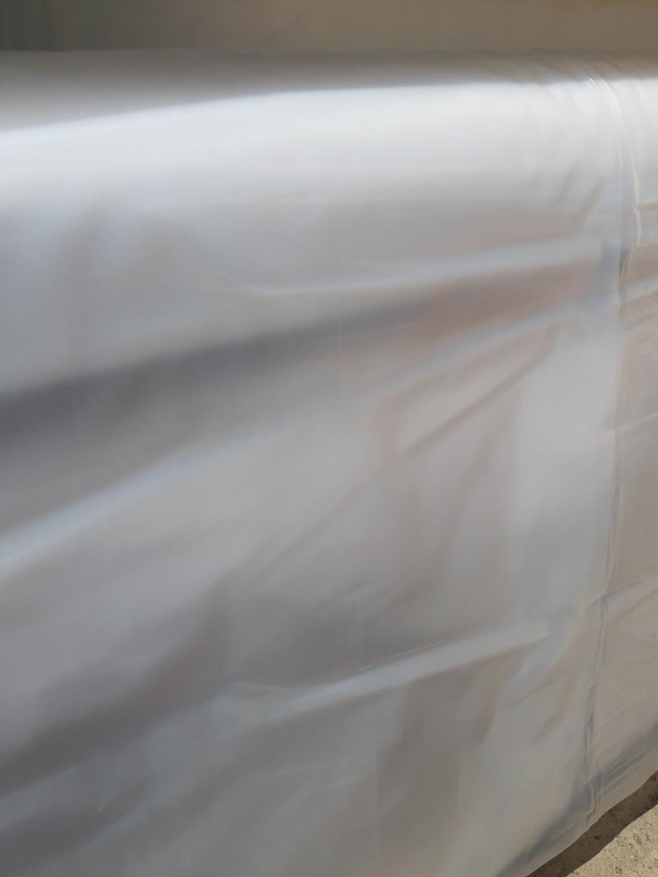 Пленка полиэтиленовая 6×50 м первичная 100 мкм (рукав 3×50м) Ника-Пласт
