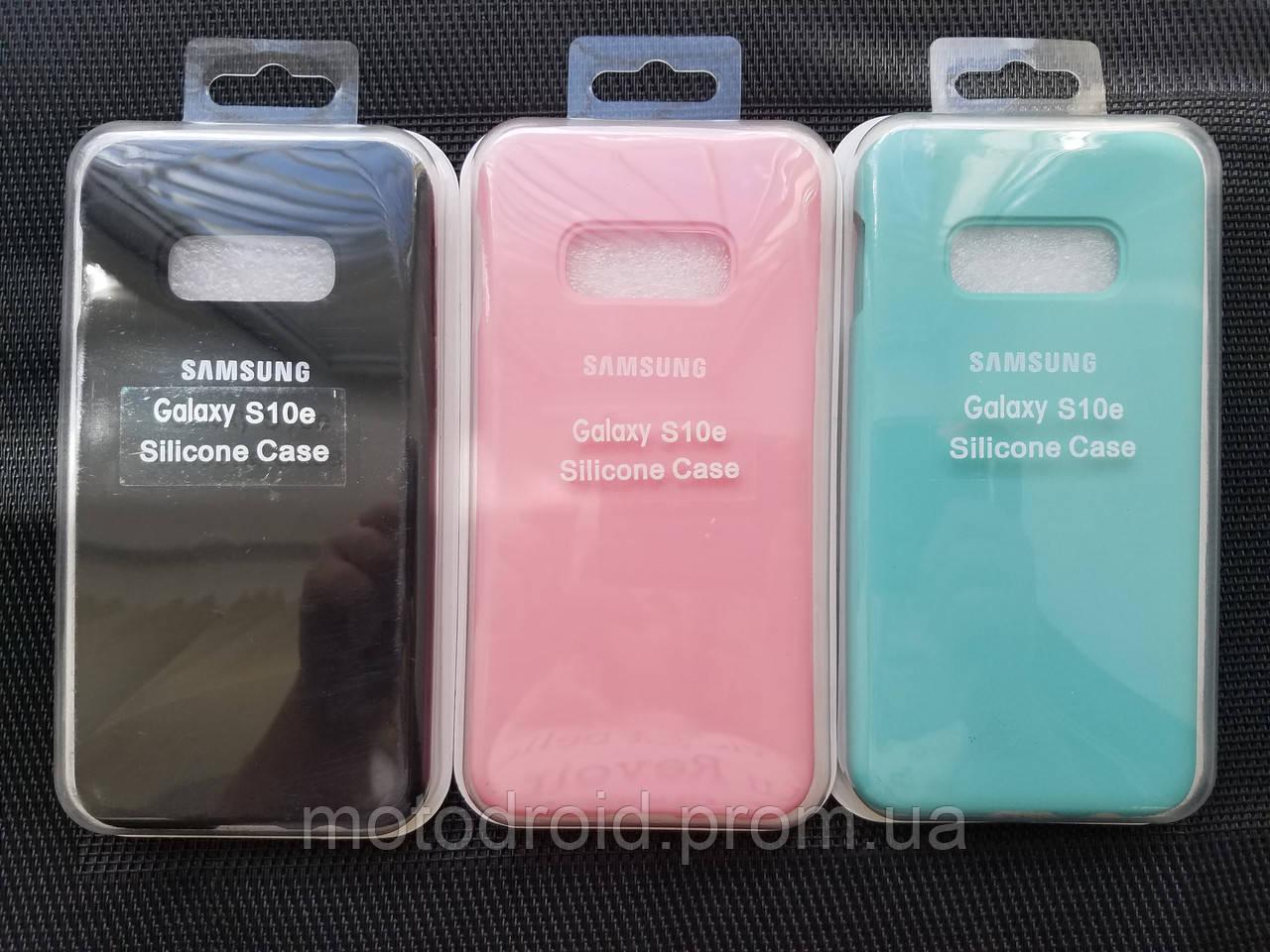 Silicone case чохол для Samsung Galaxy S10е
