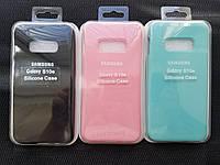 Silicone case чохол для Samsung Galaxy S10е, фото 1
