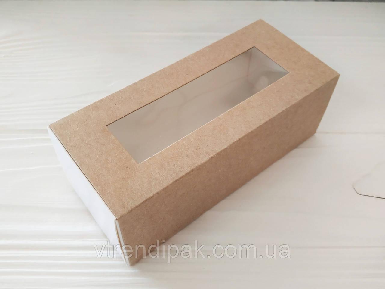 Коробка для macarons 140*60*50 крафт
