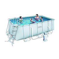 Каркасный бассейн Bestway 412*201*122 см ( 56457), фото 1