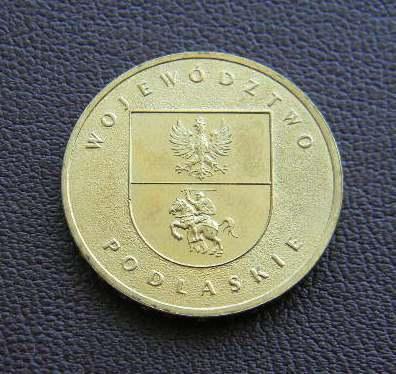 Польша 2 злотых 2004 Подляское воеводство (Województwo podlaskie)