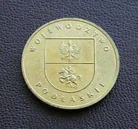 Польша 2 злотых 2004 Подляское воеводство (Województwo podlaskie), фото 1